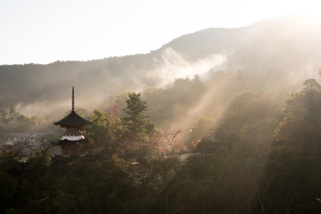 Morning on Miyajima