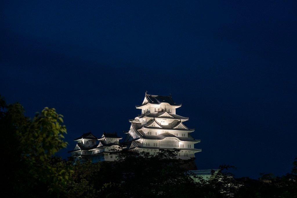 HImeji Castle Illumination