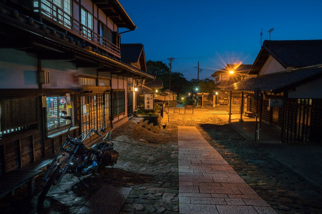 Magome at Blue Hour