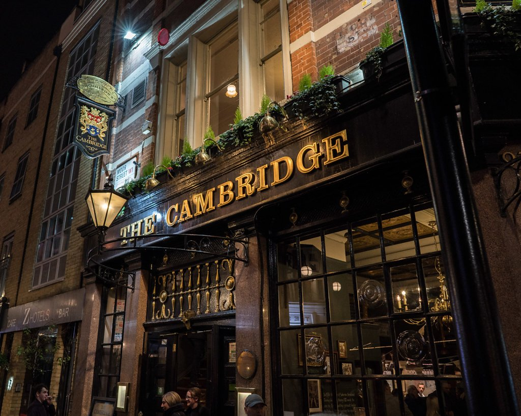 The Cambridge in Soho
