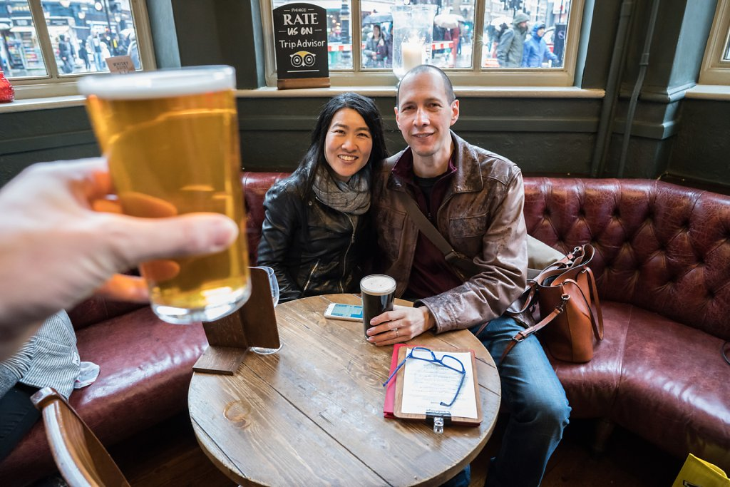 The Cambridge in Soho—even better with good company