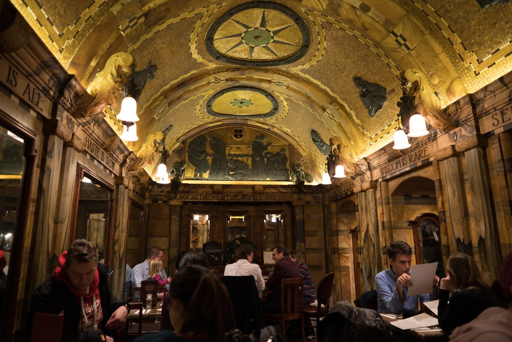 Amazing interior at he Blackfriar