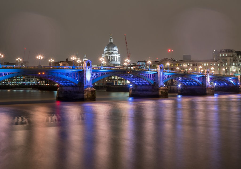 Across Southwark Bridge